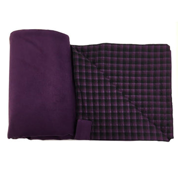 WOREMOR Purple EMF Protection Blanket For HF & LF With Grounding Kit