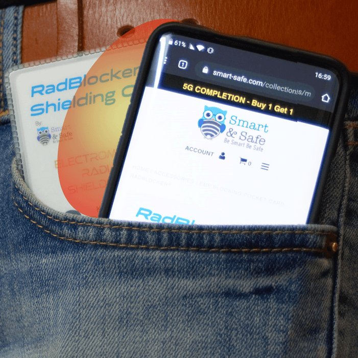 Radblocker Pocket EMF Shielding Card