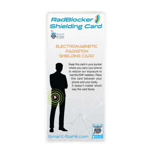 Radblocker EMF Shielding Pocket Card