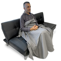 EMF Protection Blanket-Dark Grey