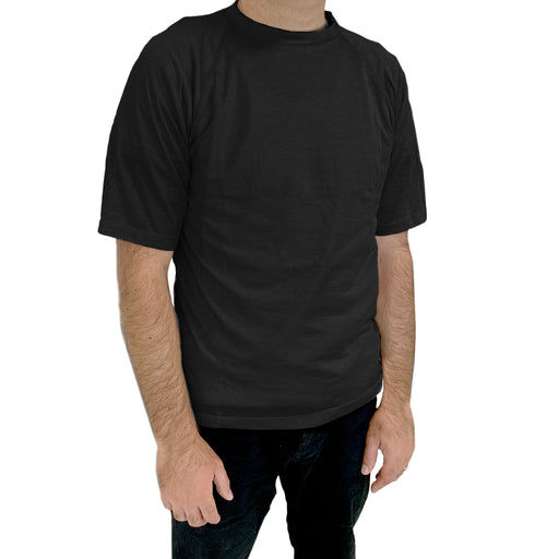 WOREMOR EMF Shielding Men's T-Shirt - Black