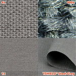 EMF shielding fabric STEEL-GRAY