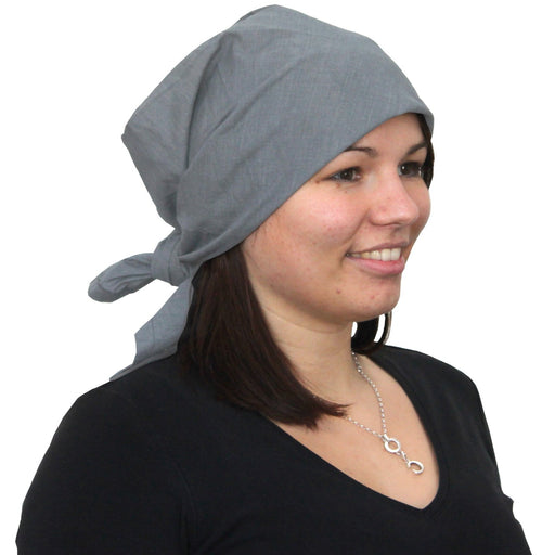 WOREMOR EMF Protection Headscarf from Steel-Gray TKG | HF