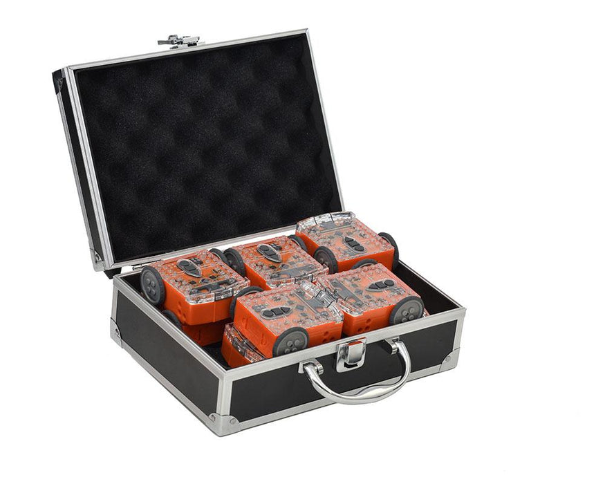 Pack of 10 Edison Robots with Free Aluminium Case