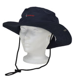 Woremor EMF Protection Bush Hat Navy with Logo