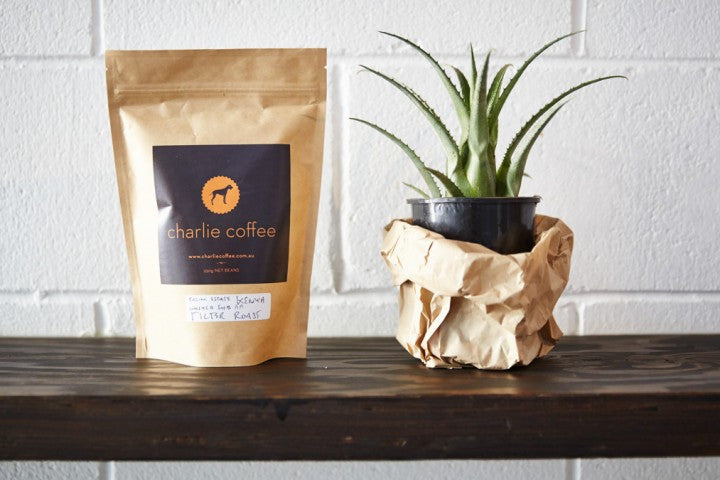 250g bag of Charlie Coffee 'Single Origin'.