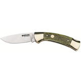 Green Bone Lock Blade W-Sheath