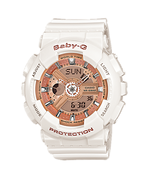 Casio Baby-G Watch BA-110-7A1 (18 Months Warranty) BA 110 7A1