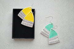 Dangle earrings - Turquoise
