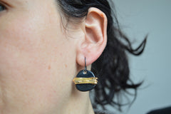 Black earrings I