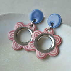 The sweetest mismatched earrings