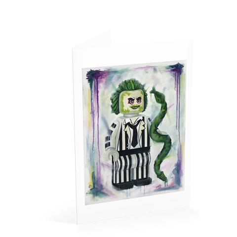 Beetlejuice Card