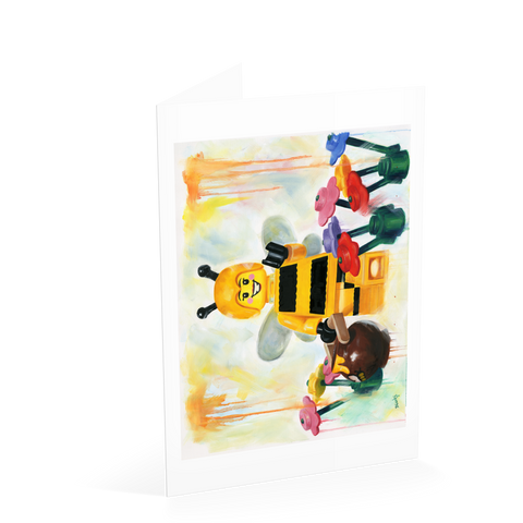 Busy Bee Card