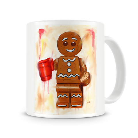 Gingerbread man - Dunk Me Mug