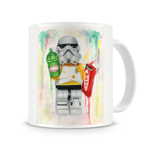 Empire Snacks Back Mug