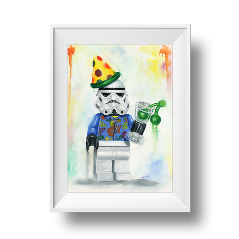 Is It Party Time Yet? Print