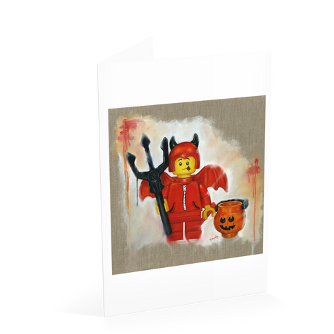 Little Devil Card - Halloween