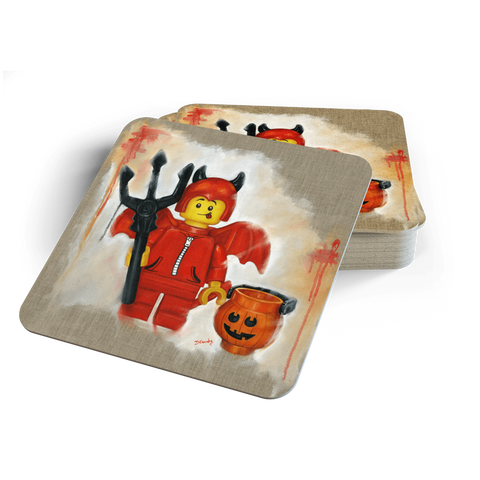 Little Devil Coasters - Halloween