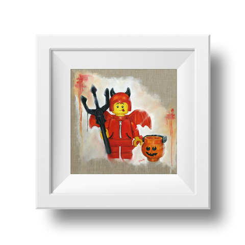 Little Devil Print - Halloween