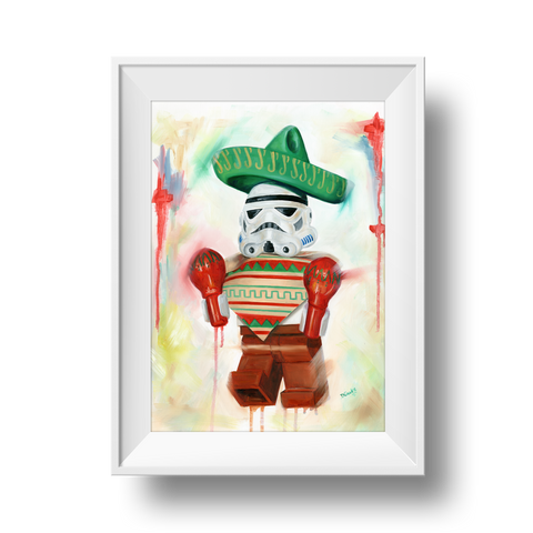 Mexican Trooper Print