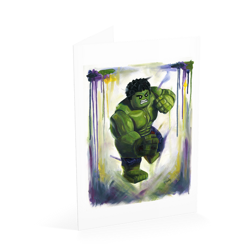 Smash it! Hulk Card
