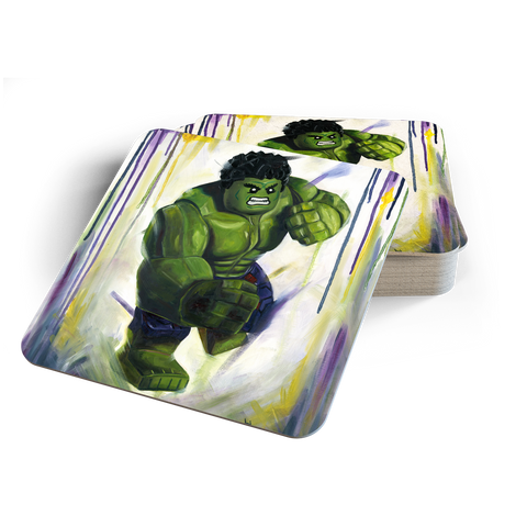 Smash it! Hulk Coasters