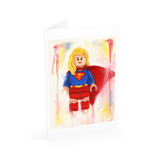 Supergirl Card