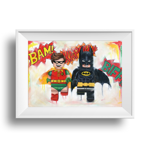 The Dynamic Duo Print