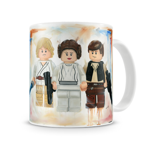 Star Wars, The Bold, the Brave and the Strong Mug