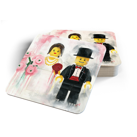 The Happy Couple Coasters