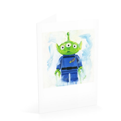 Toy Story Alien Card