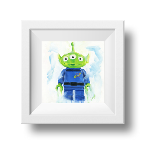 Toy Story Alien Print