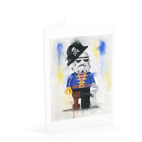 Avast Me Hearties Card