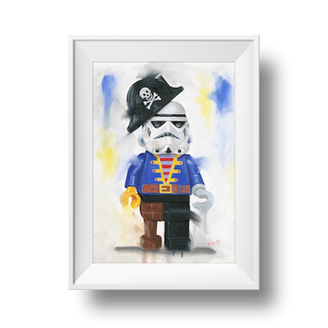 Avast Me Hearties Print