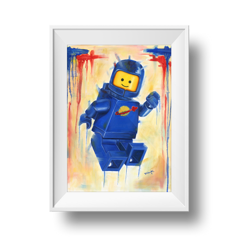 Benny the Spaceman Print