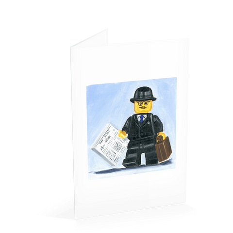 Businessman Card