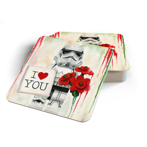 Stormtrooper love Coasters