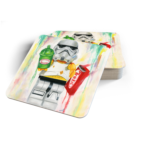 Empire Snacks Back Coasters