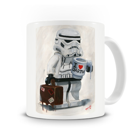 I Love Darth Mug