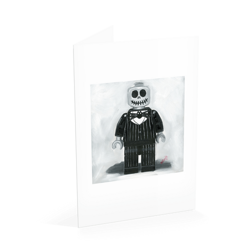 Jack Skeleton Nightmare before Christmas card
