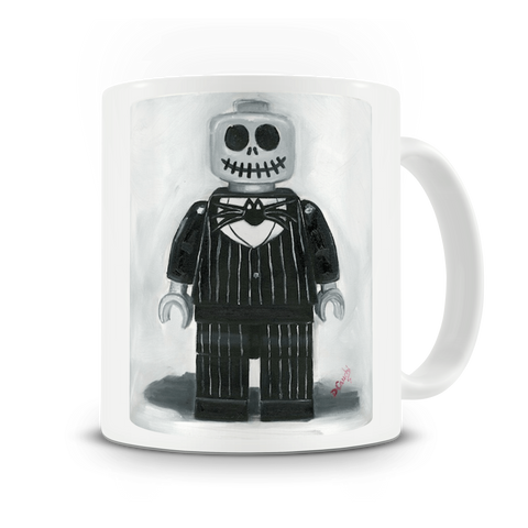 Jack Skeleton Nightmare before Christmas mug