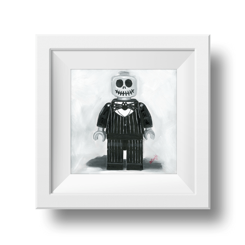 Jack Skeleton  Nightmare before Christmas print