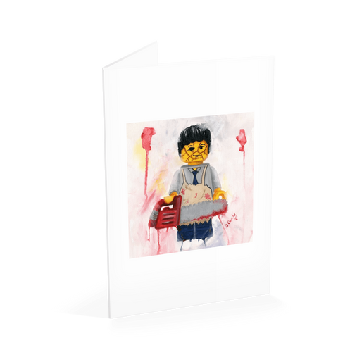 Leatherface Card