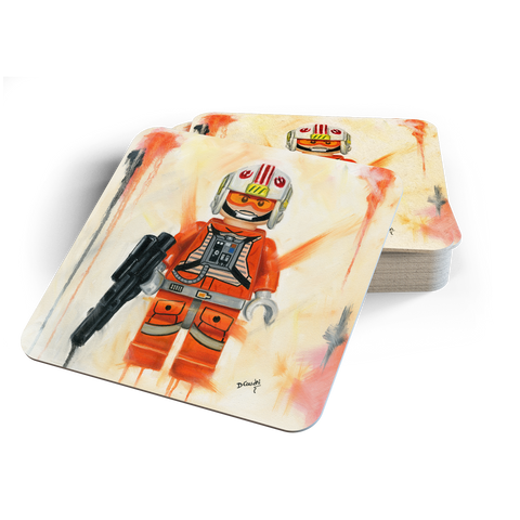 Luke the Rebel Fighter Coasters