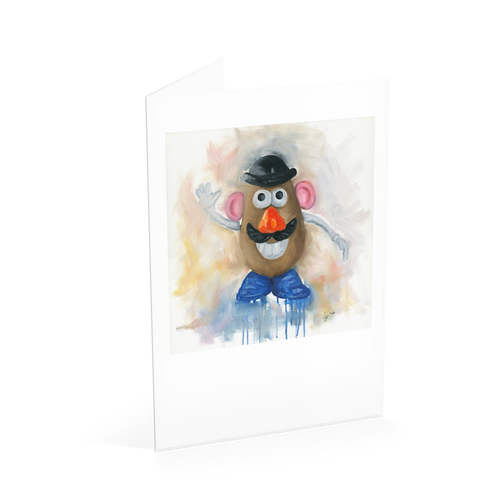 Mr Potato Head Card