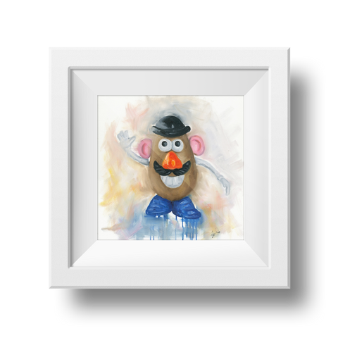 Mr Potato Head Print