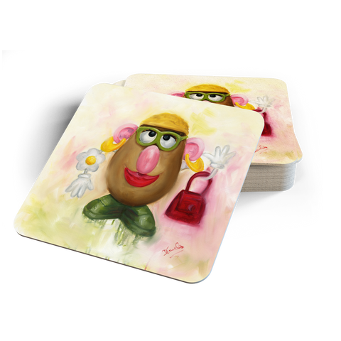 Mrs Potato Head Coasters