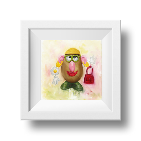 Mrs Potato Head Print