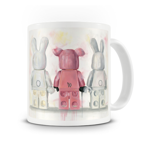 Piggy in the Middle Mug