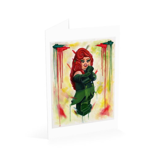 Poison Ivy Card